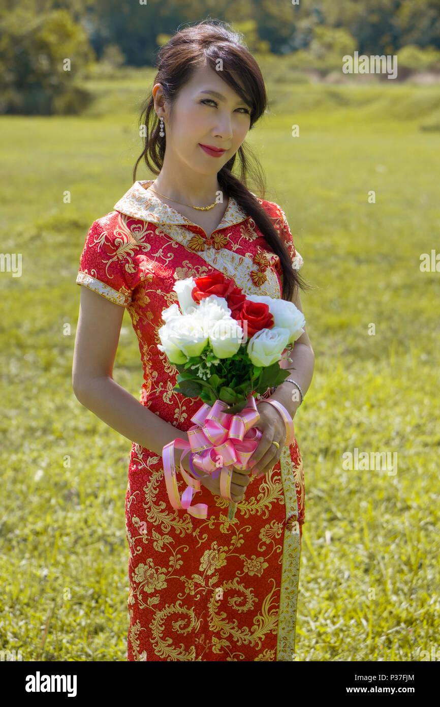 Yellow Chinese Wedding Dress