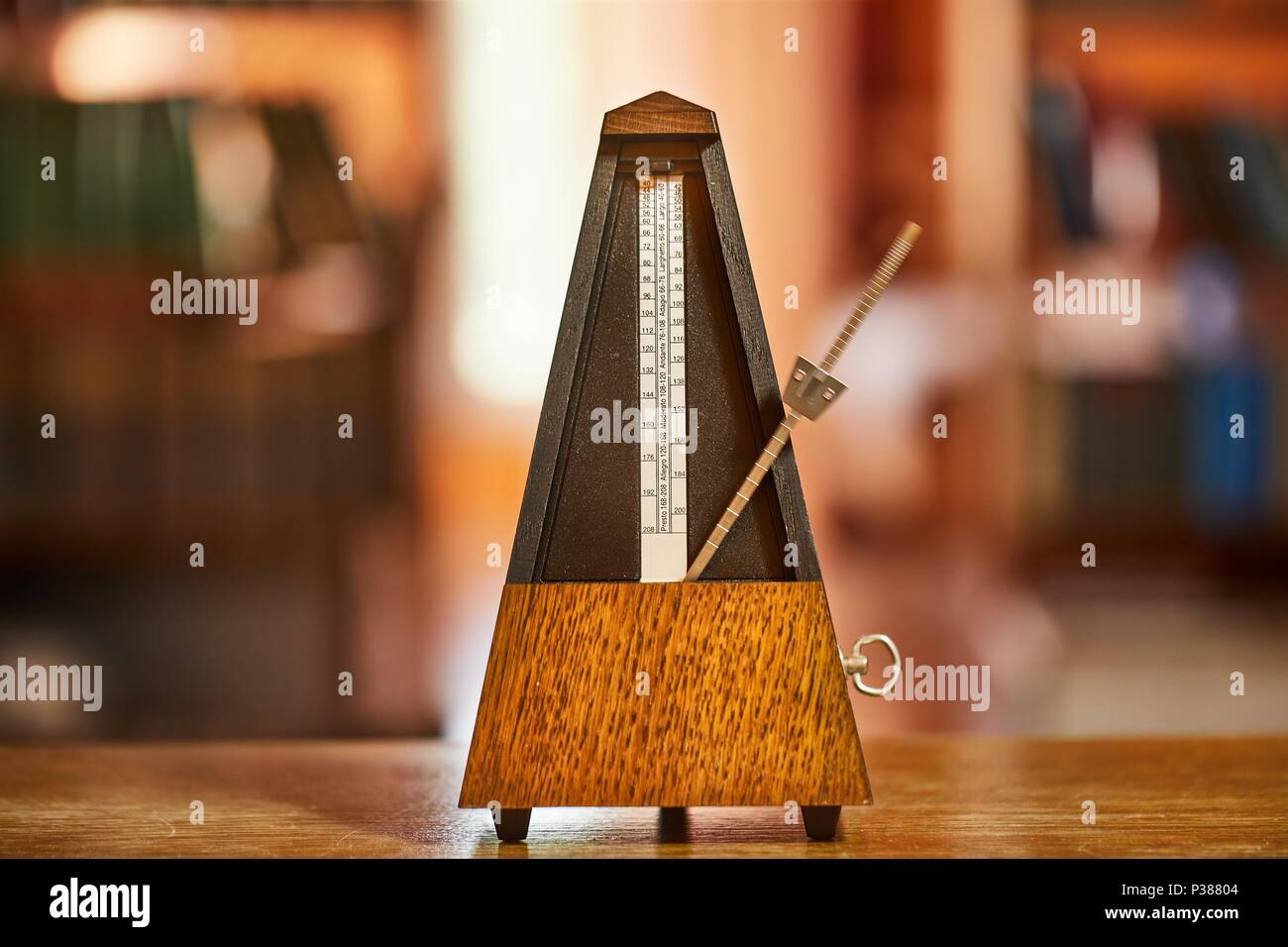 Old Classic Metronome - Stock Image