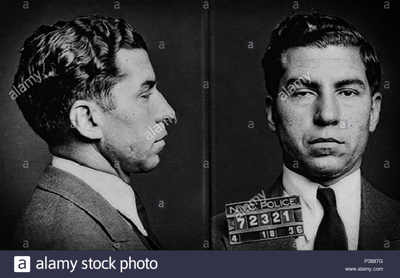 Lucky Luciano - © Doc Braham; All Rights Reserved. - Stock Image