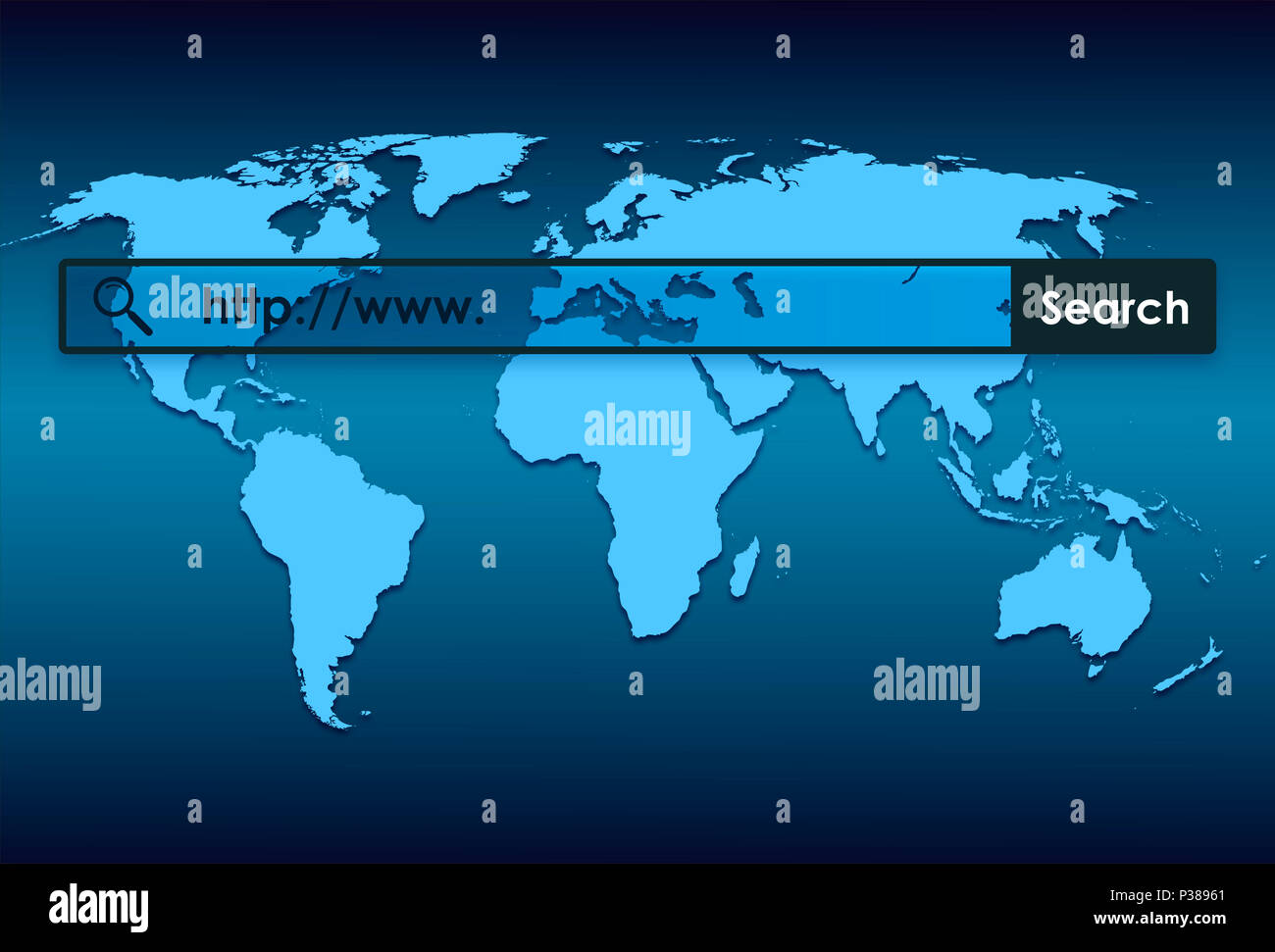 Search World Map.World Map And World Wide Web Searching Stock Photo 208551225 Alamy