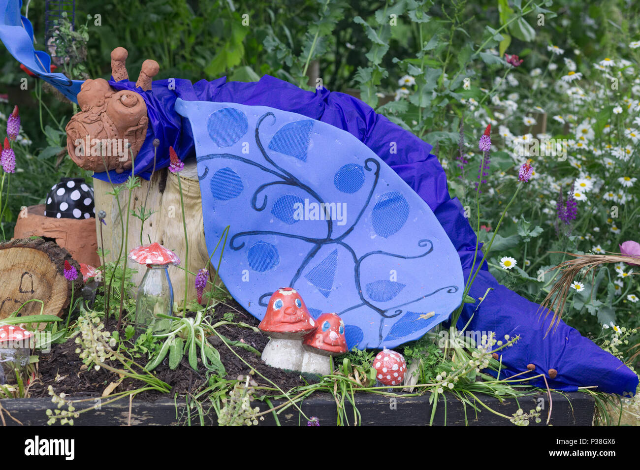 Alice And Wonderland Through The Looking Glass Handmade Garden