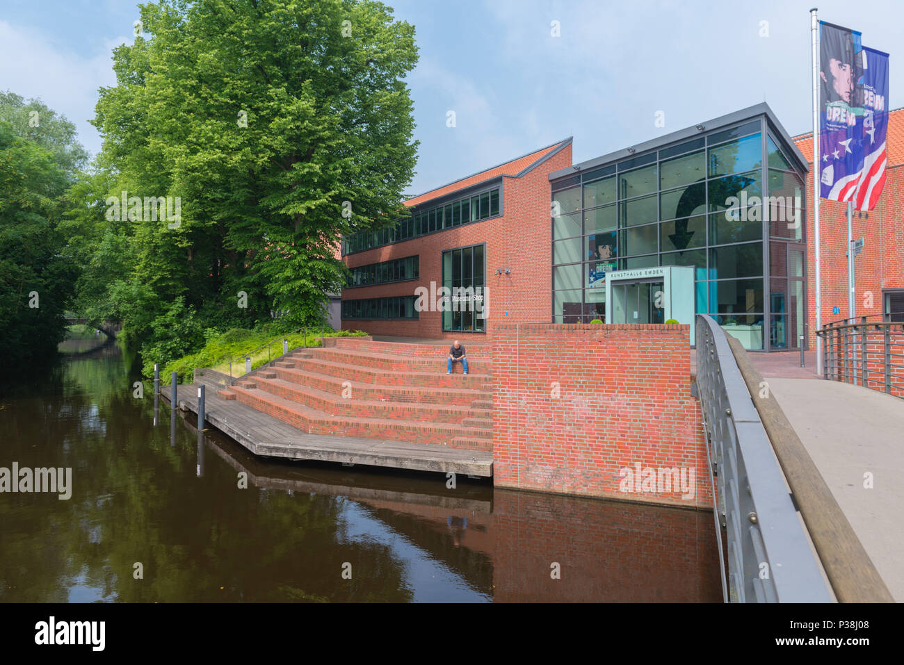 Emden, East Frisia, Lower Saxony, Germany Stock Photo