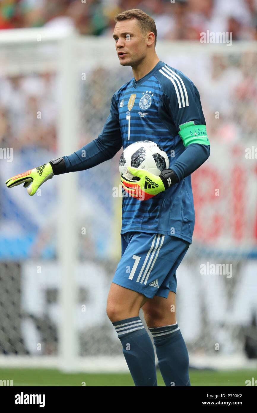 Manuel Neuer GERMANY GERMANY V MEXICO, 2018 FIFA WORLD CUP RUSSIA 17