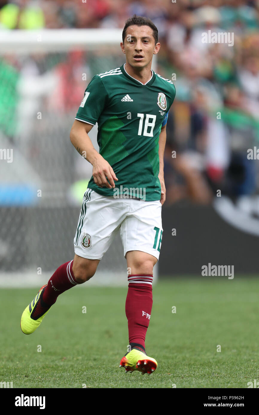 Women's Andres Guardado Mexico Soccer 2018 World Cup Jersey