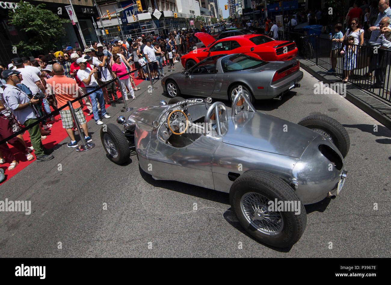 Toronto Canada Th June People Visit The Yorkville - Exotic car show near me