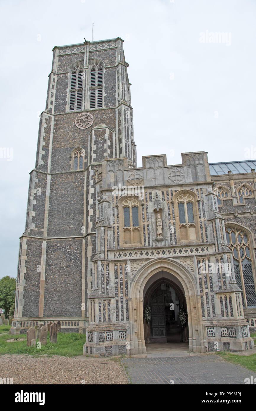 St Edmunds Church, Southwold, Suffolk, UK - Stock Image