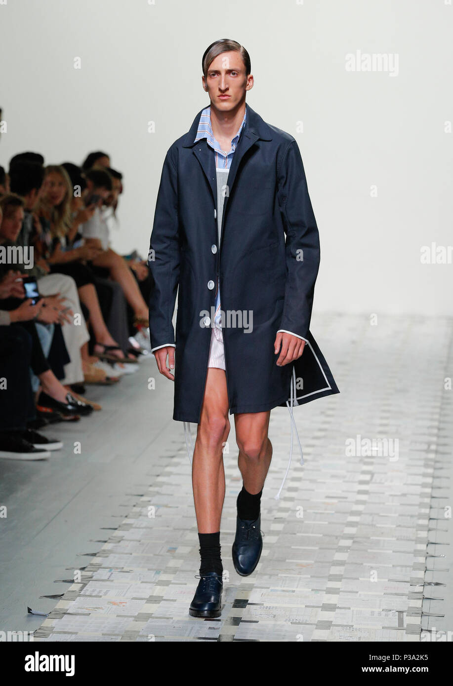 London Fashion Week Mens British Designer Daniel W Fletcher