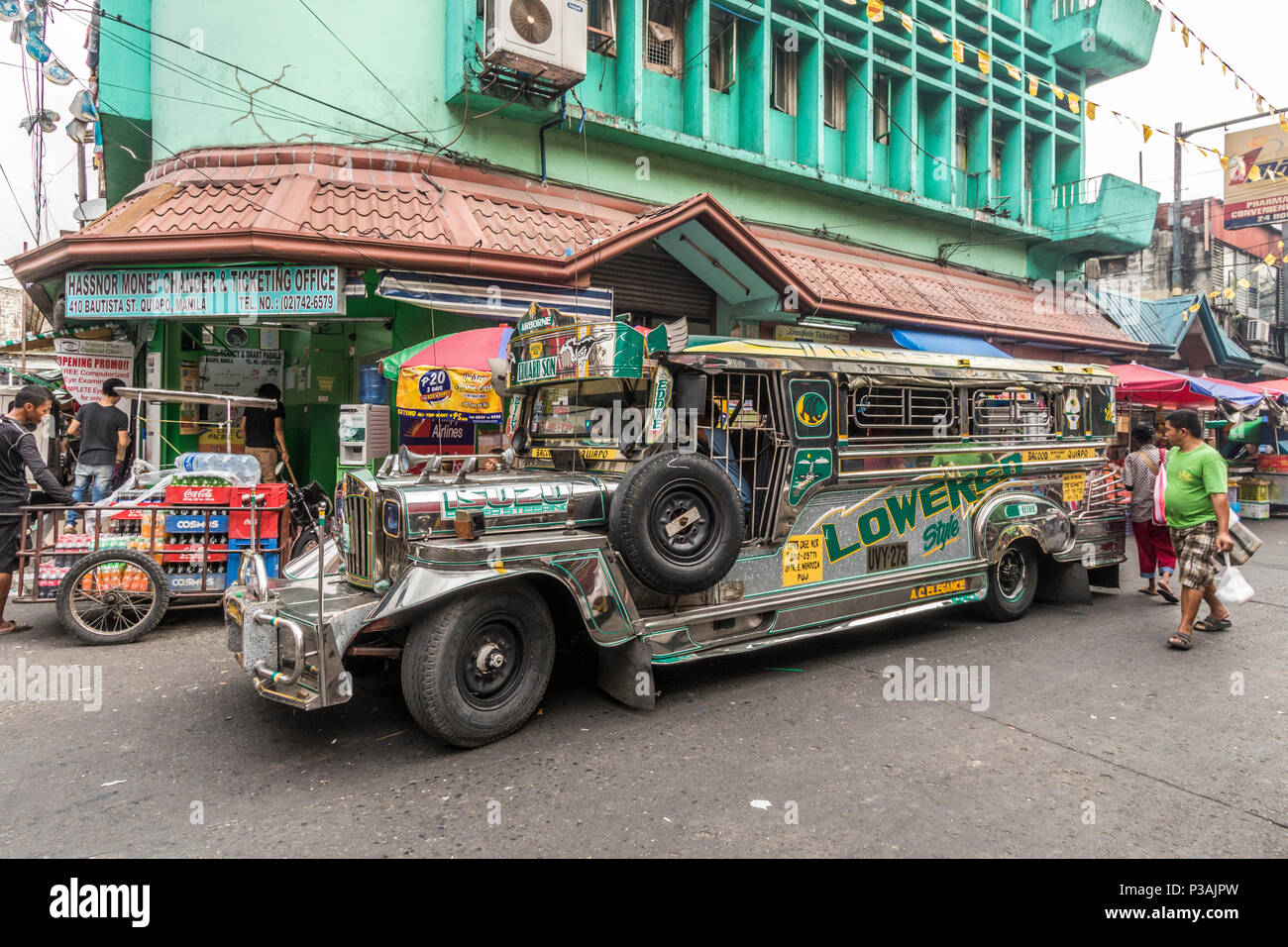 angeles city philippines daily street life 1 - YouTube