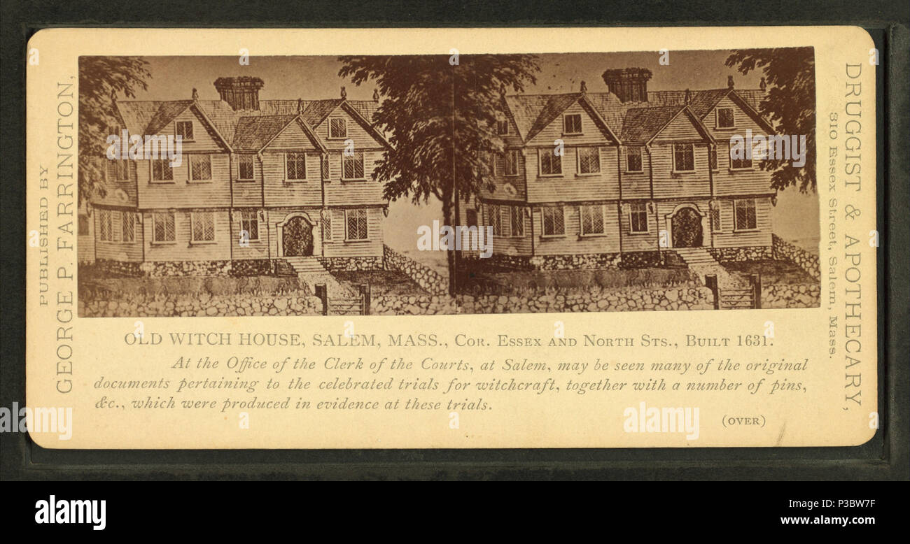 Old Witch House, Salem, Mass  Coverage: 1859?-1885?  Digital item