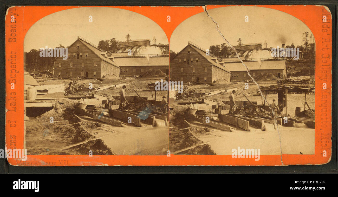 Atlantic Stamp Mill  Alternate Title: Gems of Lake Superior