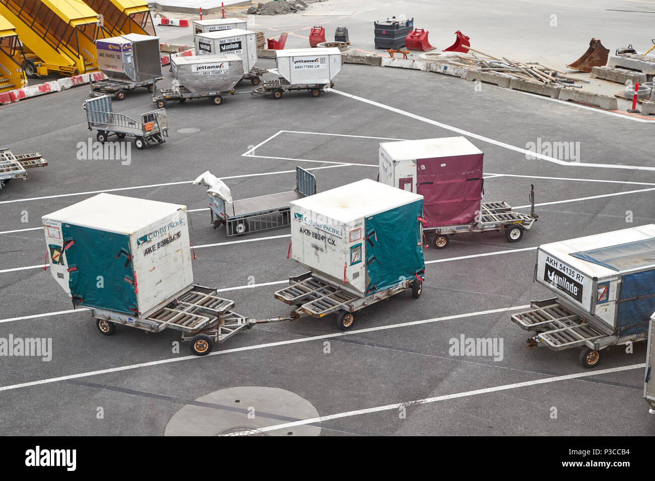 Air Cargo Containers - Stock Image