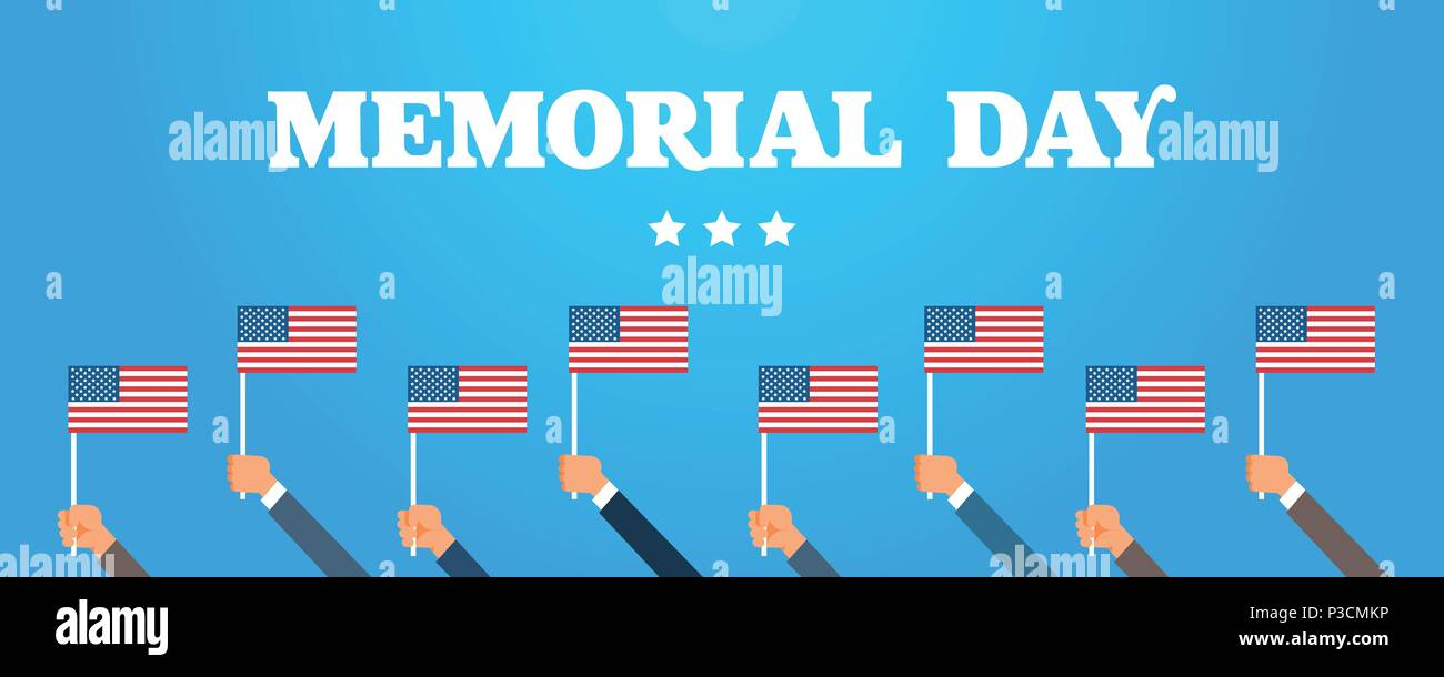 Memorial Day Usa Greeting Card Wallpaper Hands Hold National