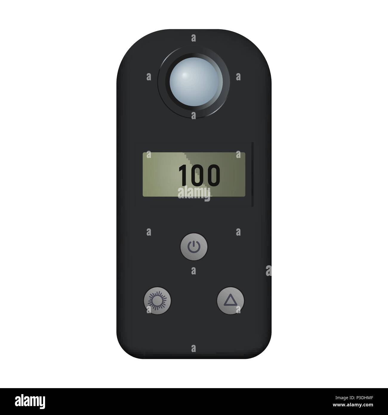 Light meter - Stock Image