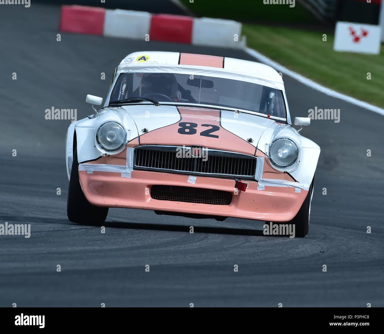 Andrew Riley, MGB V8, Bernie\'s V8s, US Muscle Cars, American ...