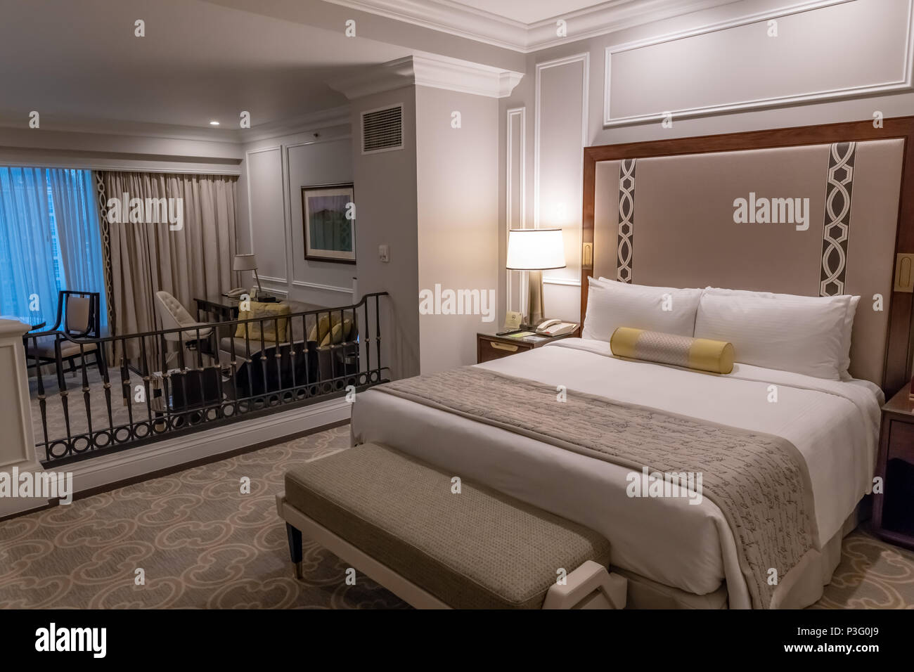 venetian hotel macau cotai resort destination and tourism - Stock Image