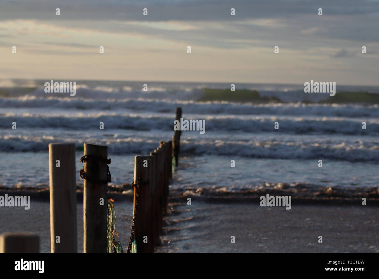 'The Sticks' Portstewart Strand - Stock Image