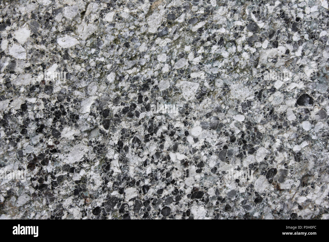 Andesite porphyry - Stock Image
