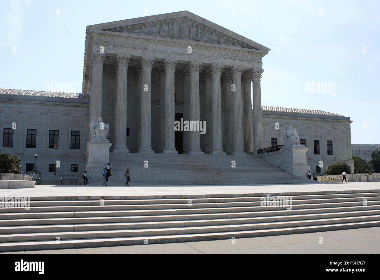 Washington, DC, USA. 18th June, 2018. The West Plaza and steps ...
