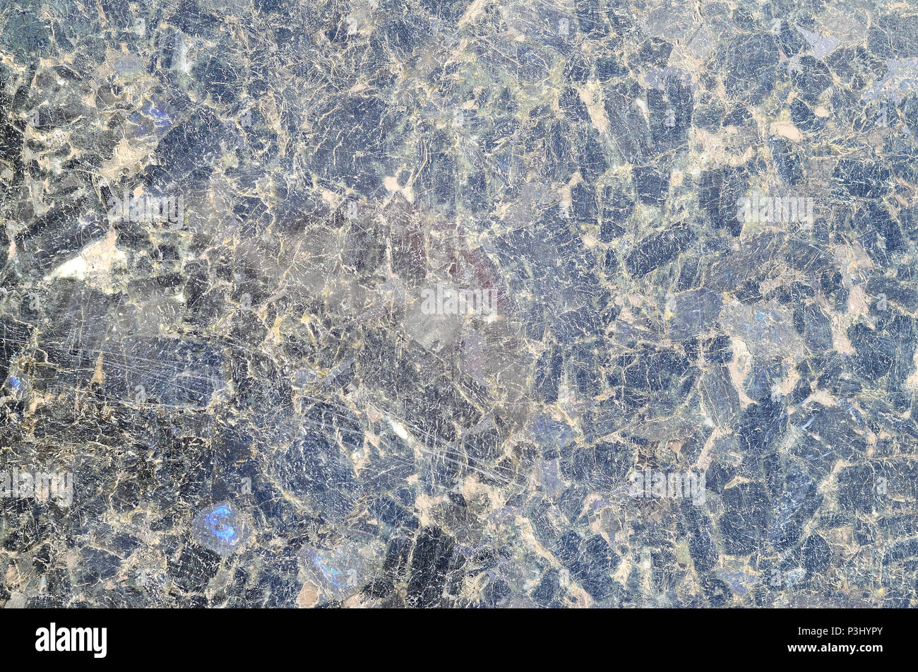 Dark Blue Close Up Granite Texture Pattern Surface Abstract Background Black Stone For Wallpaper