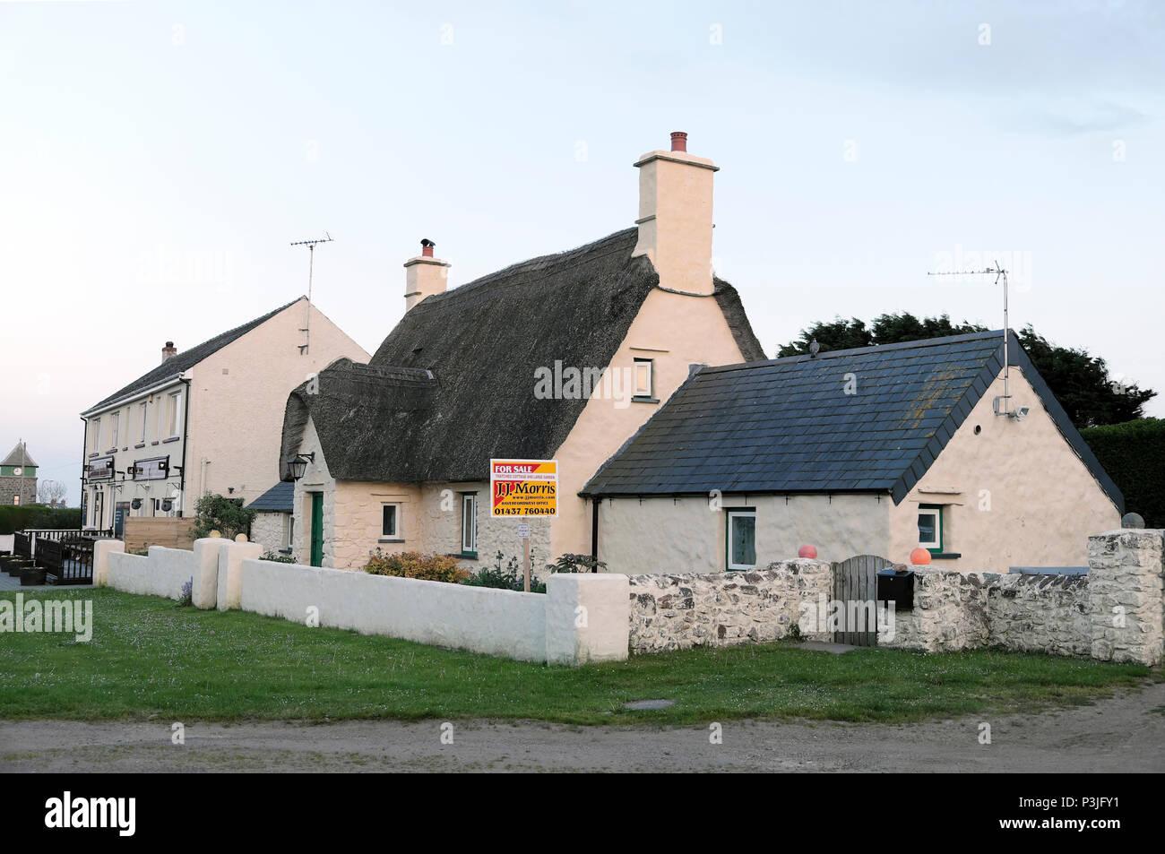 Marloes Pembrokeshire Wales, UK  KATHY DE WITT Stock Photo