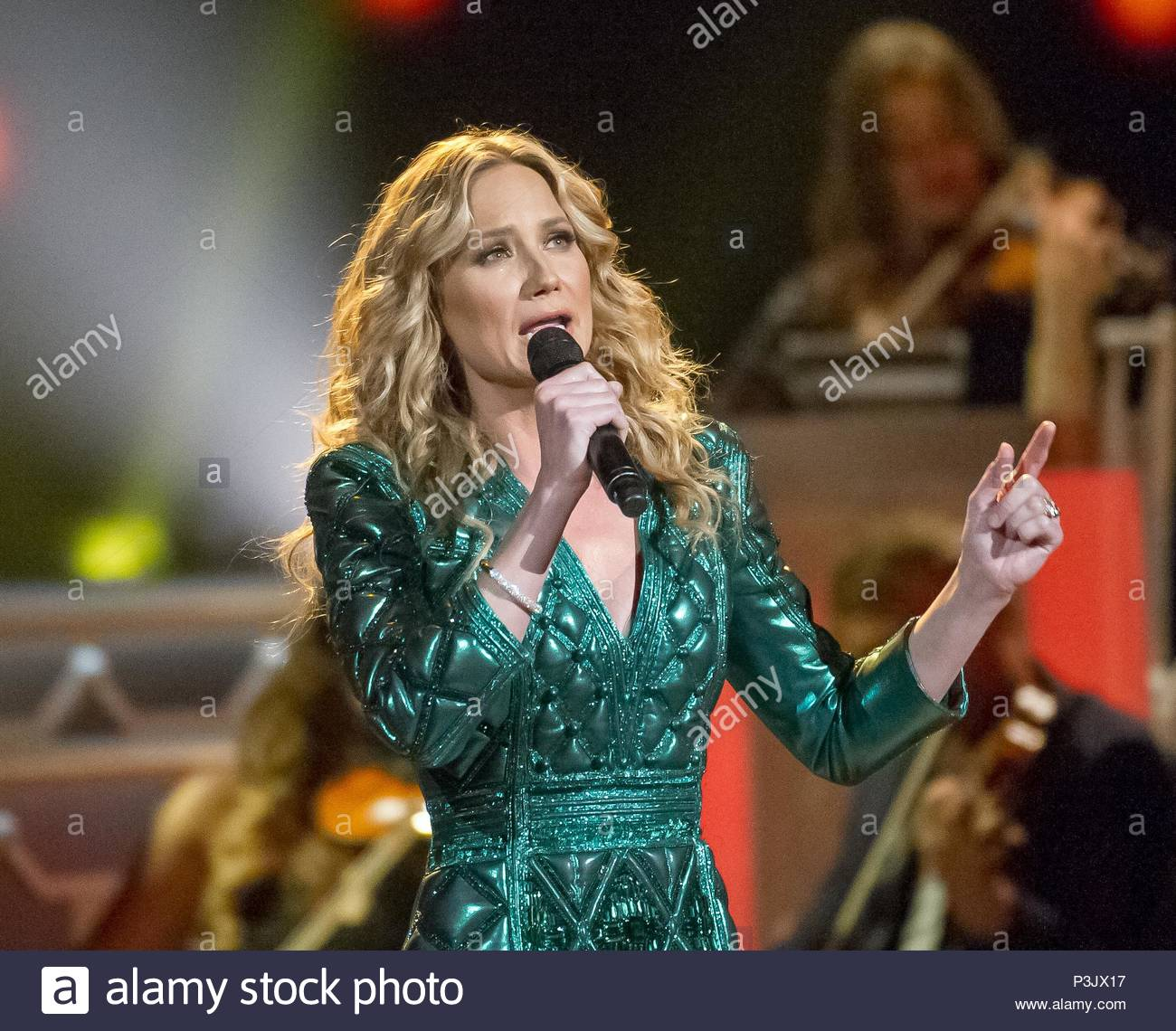 Jennifer Nettles. Martina McBride appears on the 2015 CMA Country ...