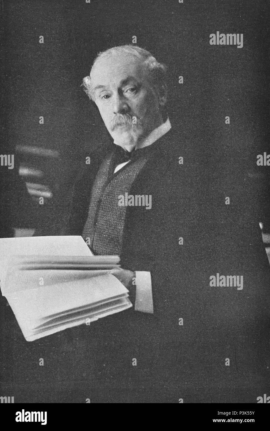 Sir Caspar Purdon Clarke (1846–1911) English architect and museum director. - Stock Image