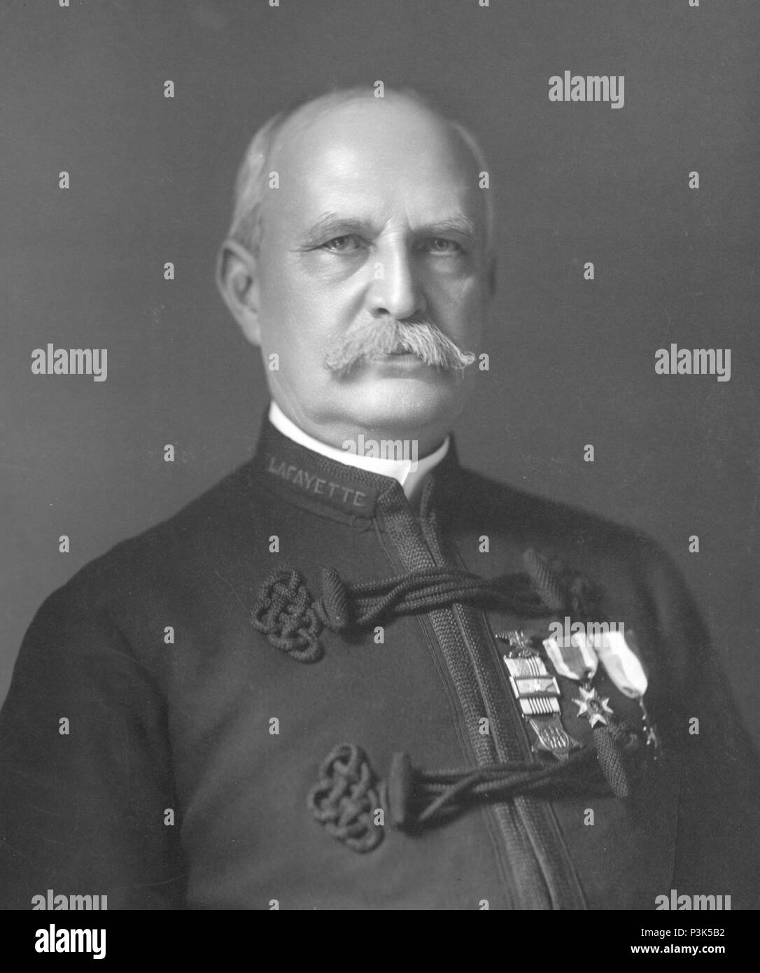 Abraham Gilbert Mills (1844 – 1929) fourth president of the National League of Professional Base Ball Clubs (1883-1884) - Stock Image