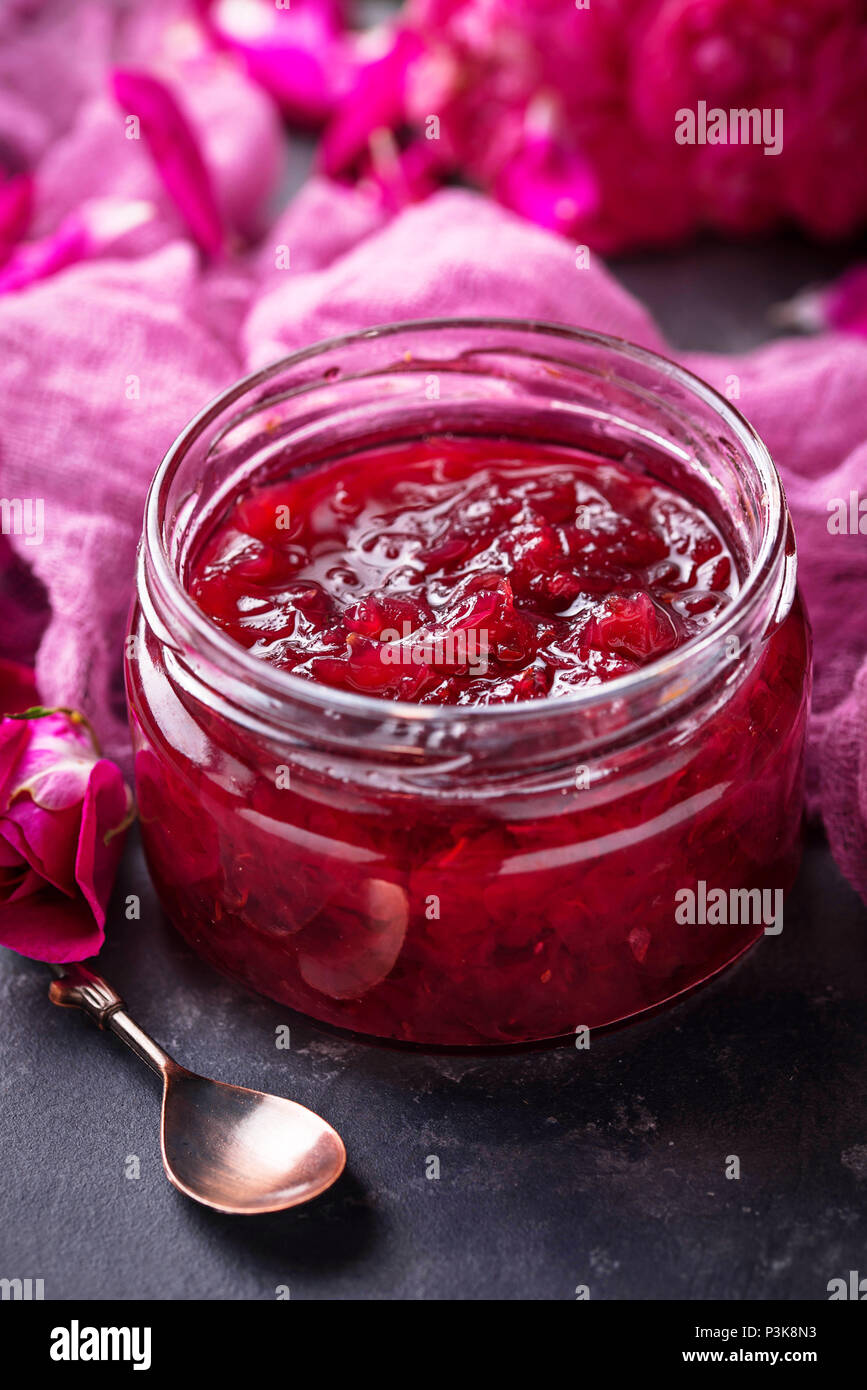 Jam Jar Flowers Stock Photos & Jam Jar Flowers Stock Images - Alamy