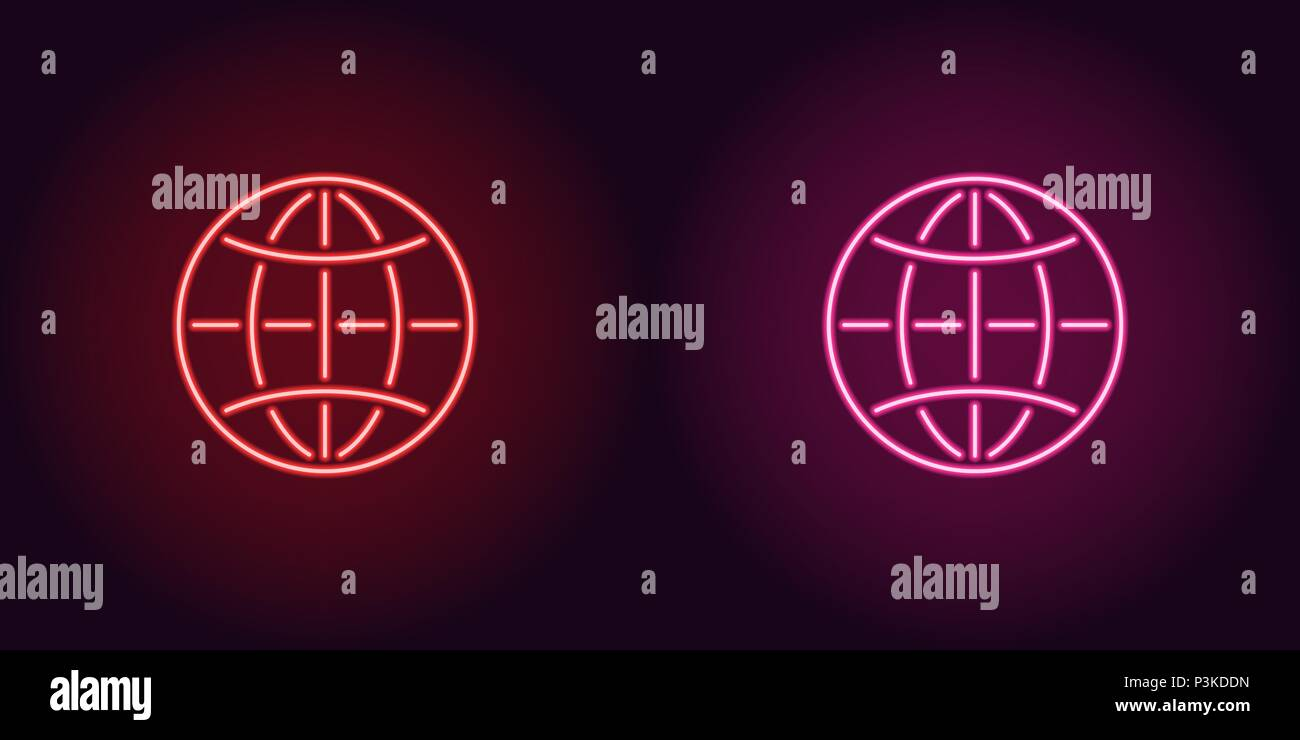 Neon Map Stock Photos & Neon Map Stock Images - Alamy