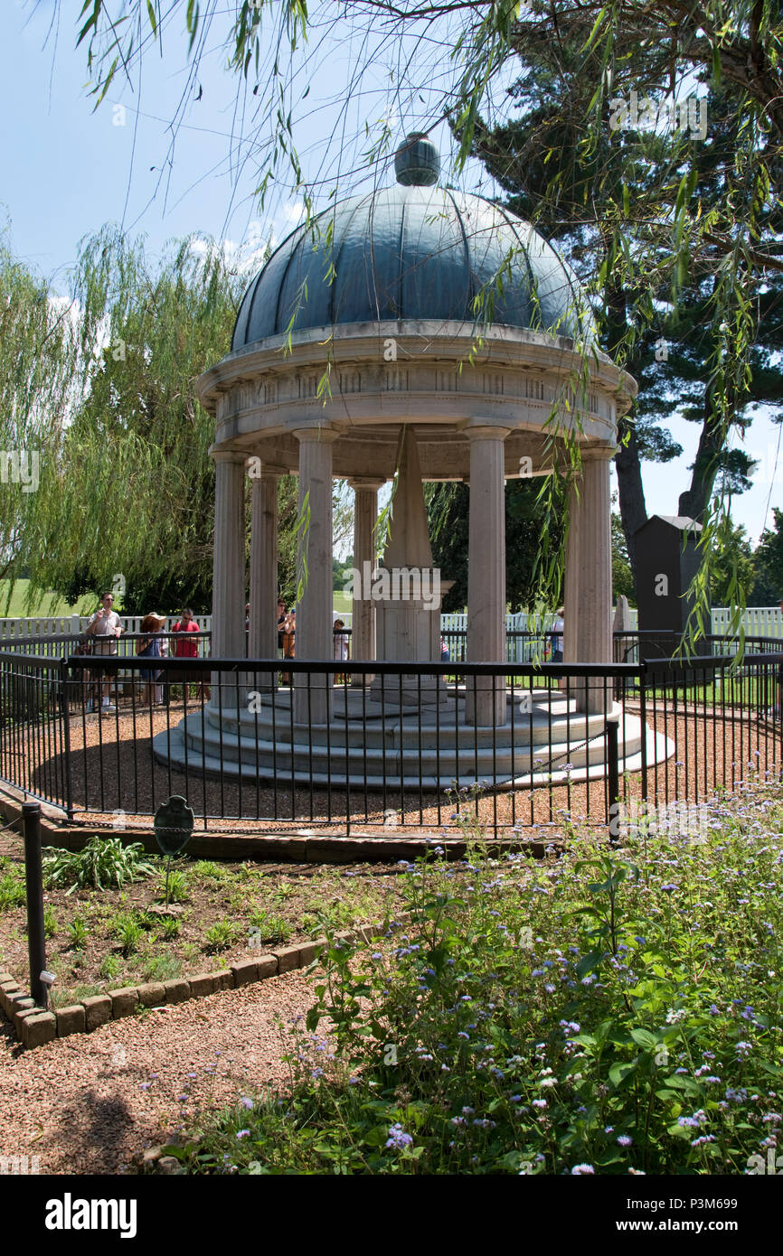 Incroyable The Tomb Of President Andrew Jackson In The Hermitage Garden, Nashville,  Tennessee.