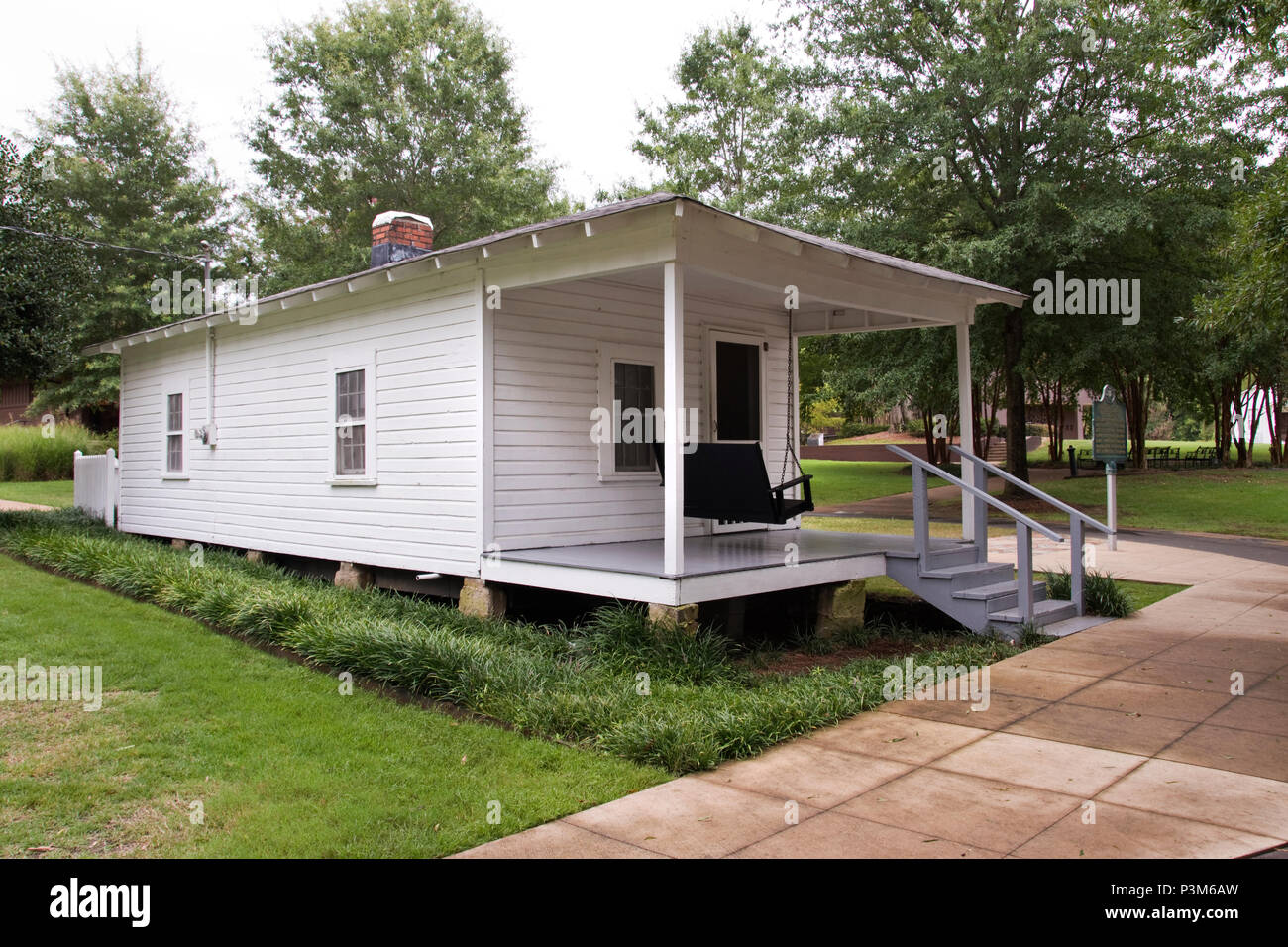 House where Elvis Presley was born, January 8, 1935, in Tupelo, Mississippi. - Stock Image