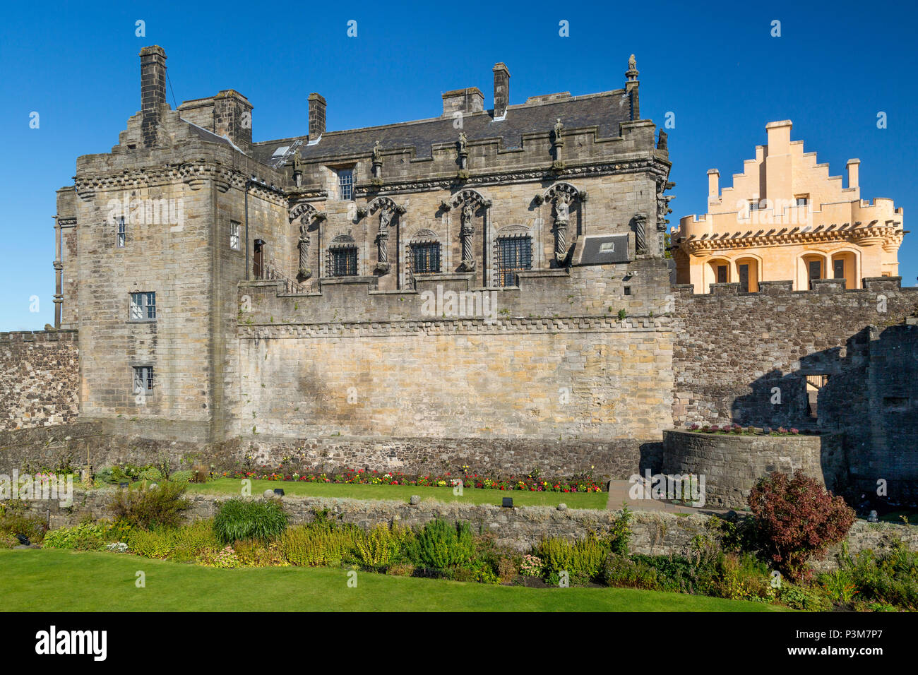 Birthplace of Mary Queen of Scots, Stirling Castle, Stirling, England. UK - Stock Image