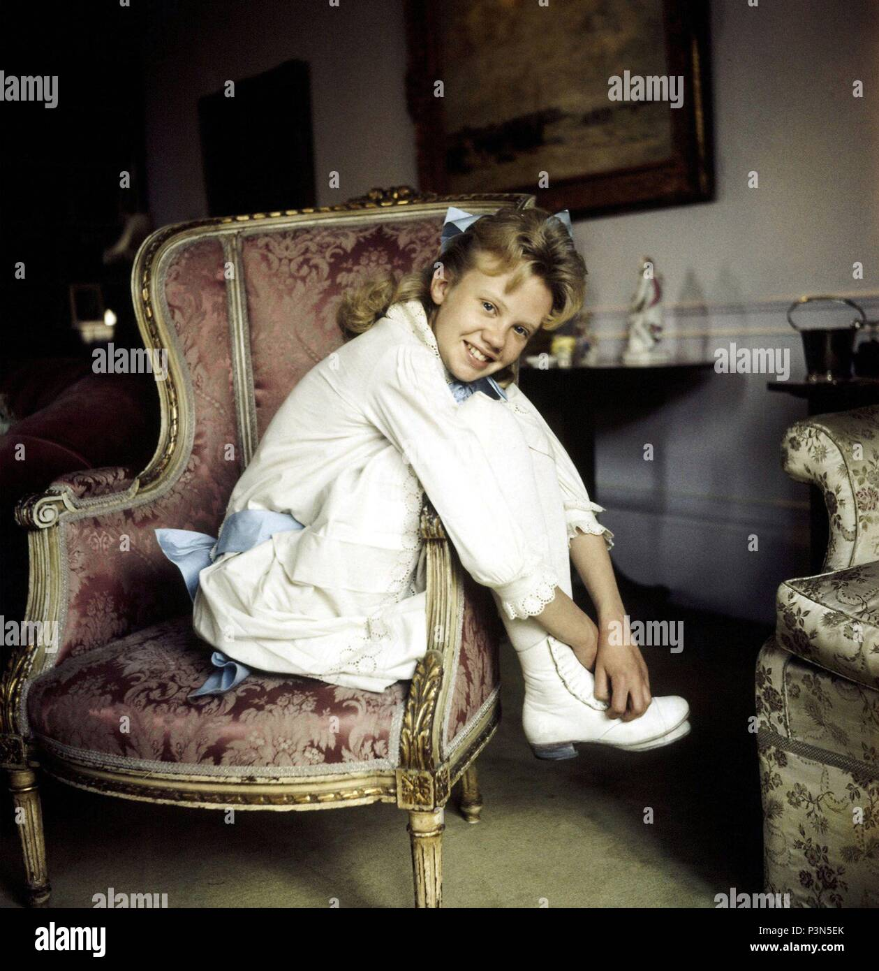 Original Film Title: POLLYANNA.  English Title: POLLYANNA.  Film Director: DAVID SWIFT.  Year: 1960.  Stars: HAYLEY MILLS. Credit: WALT DISNEY PICTURES / Album - Stock Image