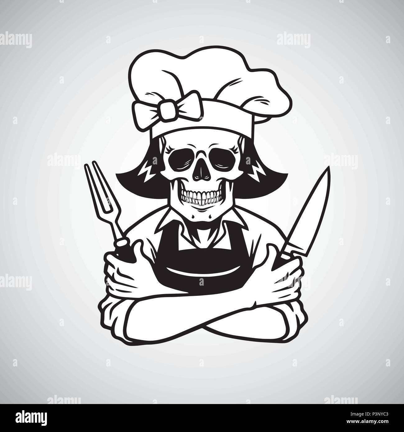 chef logo stock photos chef logo stock images alamy