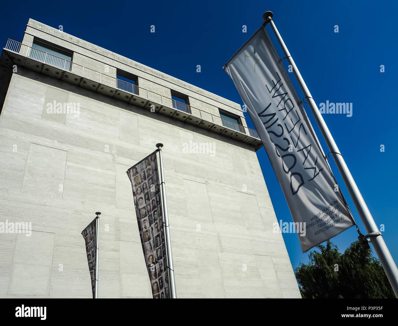 The Kazerne Dossin Museum And Memorial In Commemoration Of World War 2 Holocaust Designed By Bob Van Reeth Mechelen Belgium