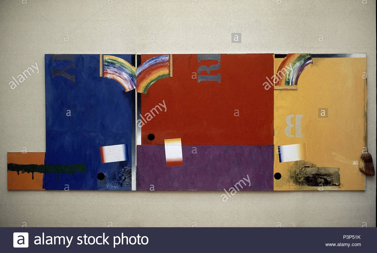 jasper johns painting stock photos jasper johns painting stock images alamy. Black Bedroom Furniture Sets. Home Design Ideas