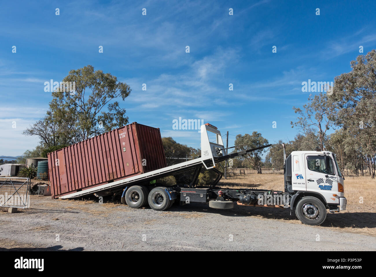 Tipper Truck High Resolution Stock Photography And Images Alamy