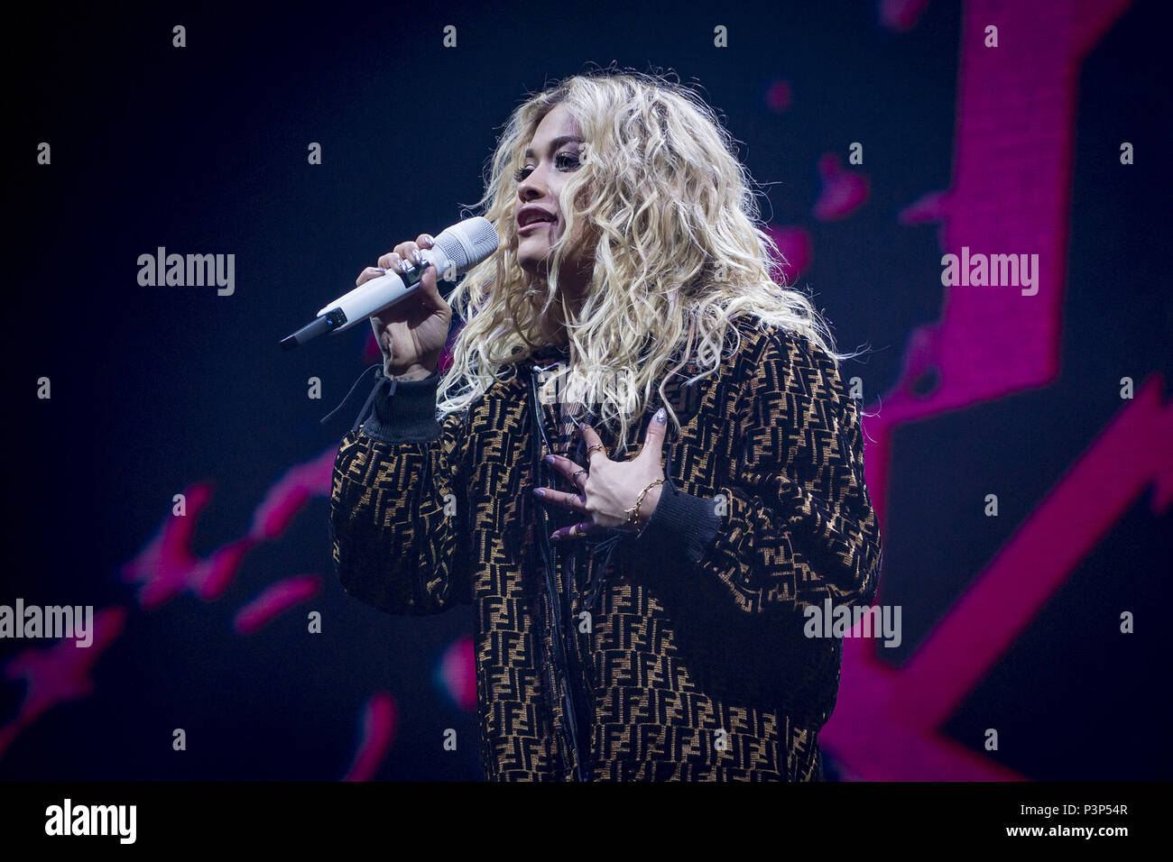 Rita Ora Girls Tour at Brixton Academy  Featuring: Rita Ora Where: London, United Kingdom When: 18 May 2018 Credit: Neil Lupin/WENN Stock Photo