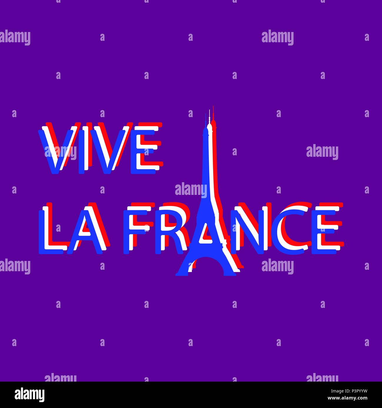 Bastille day july 14 concept of french national holiday eiffel concept of french national holiday eiffel tower instead of the letter a translation of texts in french long live france spiritdancerdesigns Images