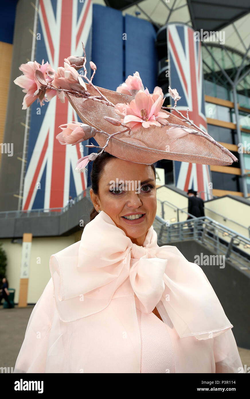 Mrs Stephen Hayden Stapf During Day One Of Royal Ascot At Racecourse
