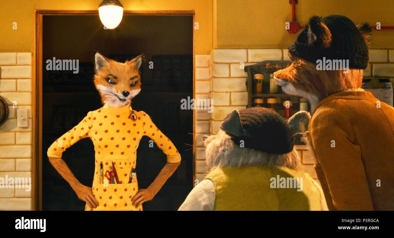 Original Film Title: FANTASTIC MR. FOX. English Title: FANTASTIC MR. FOX
