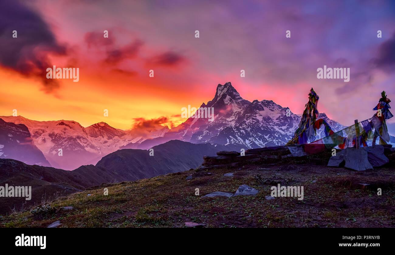 Mardi Hamal early morning light - Stock Image