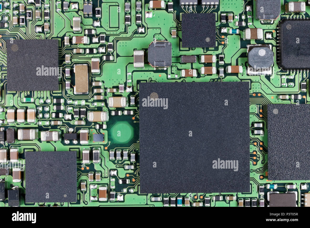Smd Chip Stock Photos Images Alamy Drawing Modern Electronic Circuit Security Concept Of Electronics Microchips And Microcircuits With Ball Pins Are Installed On A Board Super