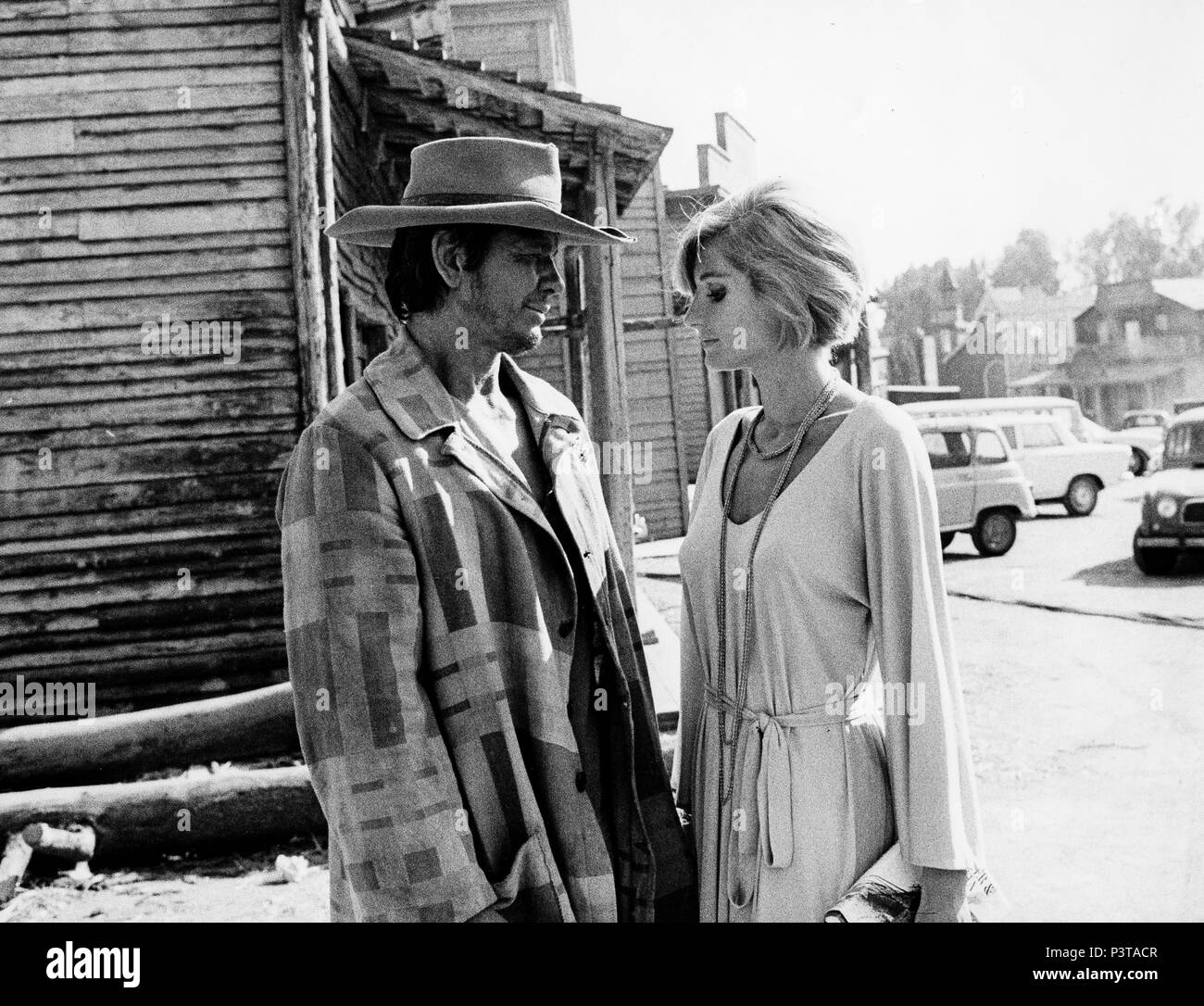 charles bronson, jill ireland, once upon a time in the west, 1968 - Stock Image