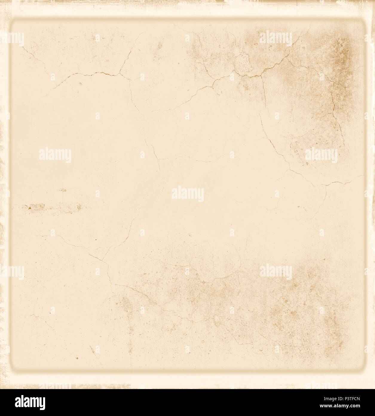 Vintage texture background in sepia tones. - Stock Image