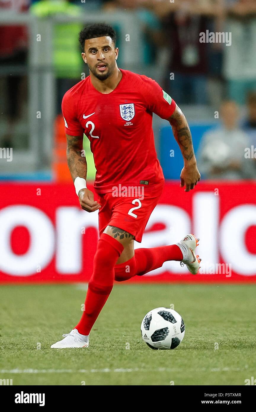 Volgograd, Russia  18th Jun, 2018  Kyle Walker of England