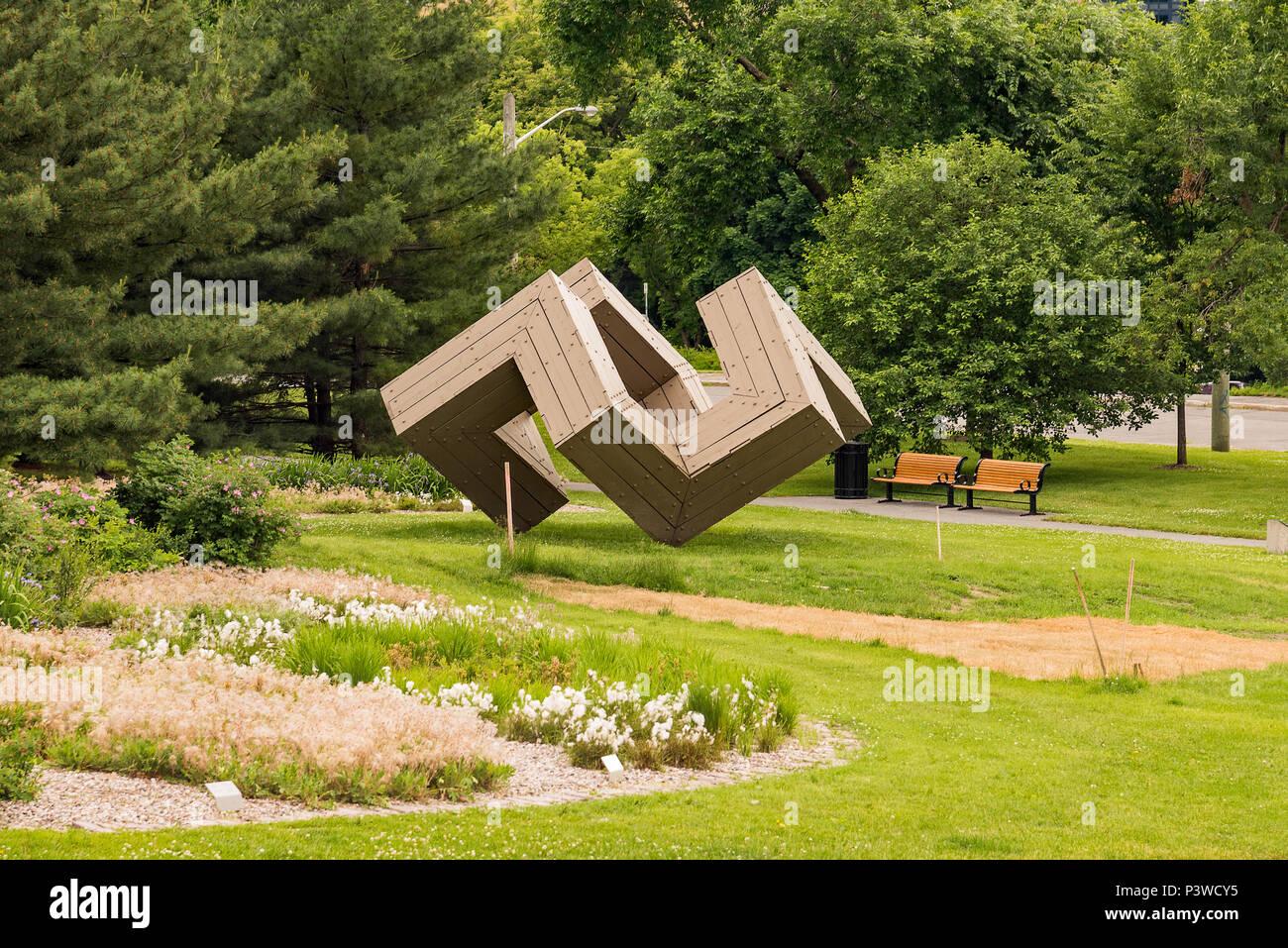 Garden of the Provinces, Ottawa, Canada. - Stock Image