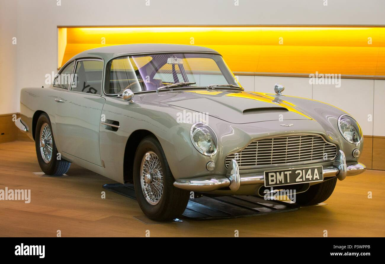 the aston martin db5 drivenjames bond which is expected to fetch