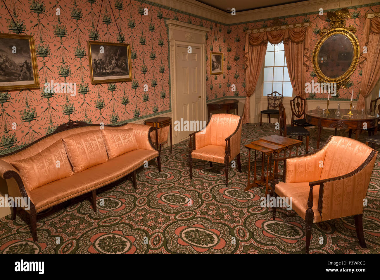 oak hill interior design elizabeth derby west 1800 museum of