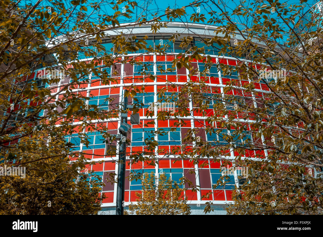 Television Centre in Shepherd's Bush formerly the home of BBC Television since 1959 is now a housing and leisure development. - Stock Image